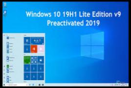 Windows 10 Pro x64 1909 incl Office 2019 - ACTiVATED Mar 2020